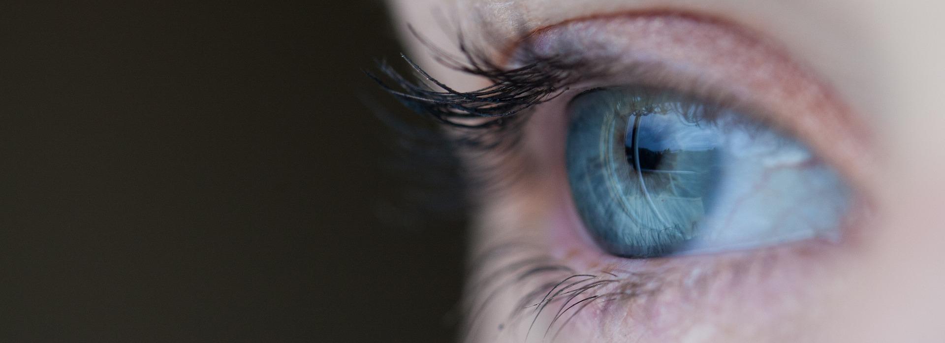 Augen in Detailaufnahme